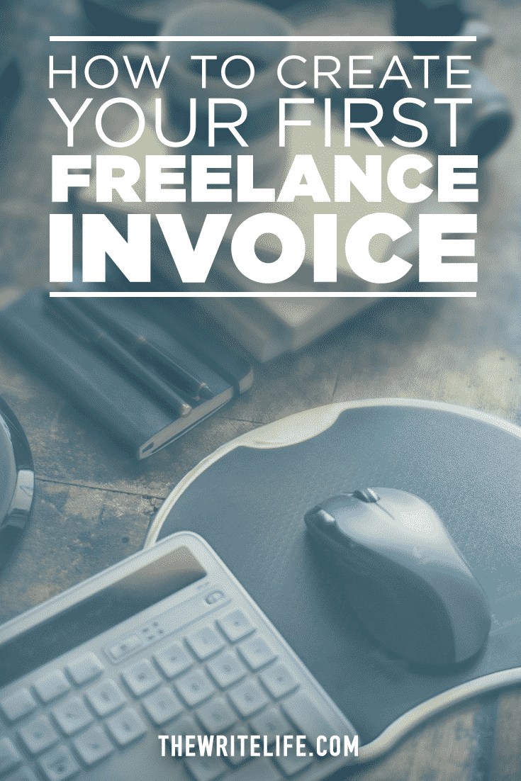how to create your first lance invoice firstinvoice