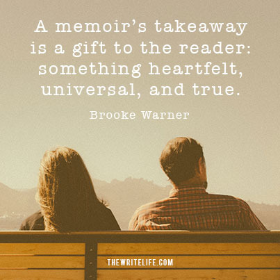 Takeaway: A gift to the reader