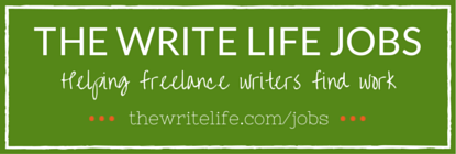 Writing jobs on The Write Life