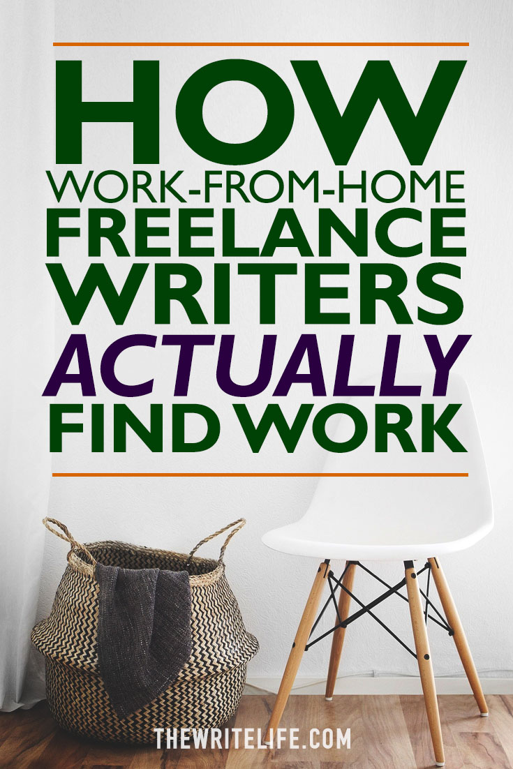 Work-from-home freelance writers