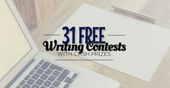 Cash prize writing contests 2014