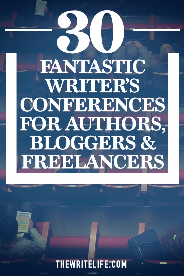 fantastic writers conferences for authors bloggers and lancers conferences for writers
