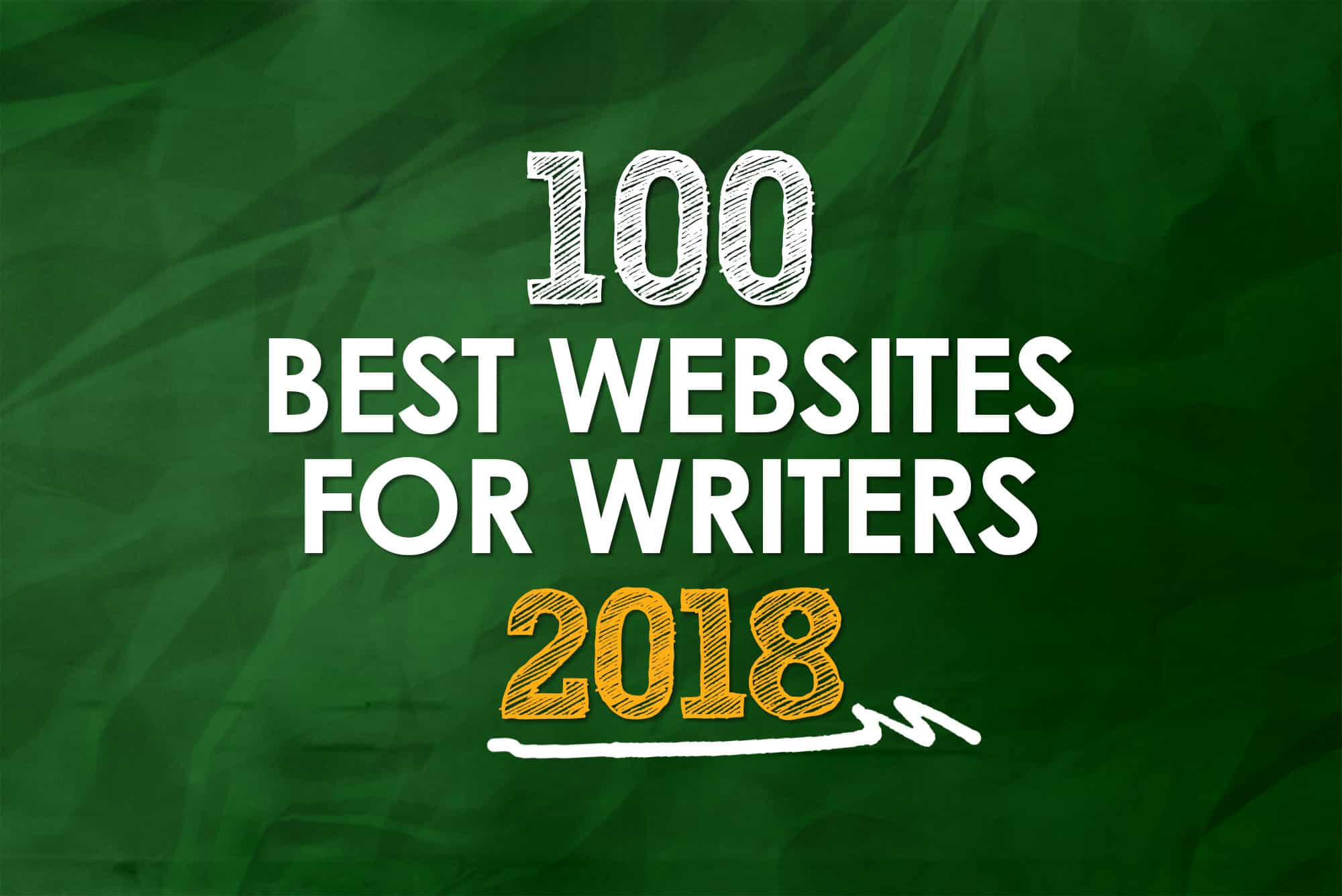 100 Best Writing Websites: 2018 Edition